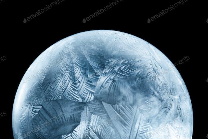 Frosty christmas winter pattern