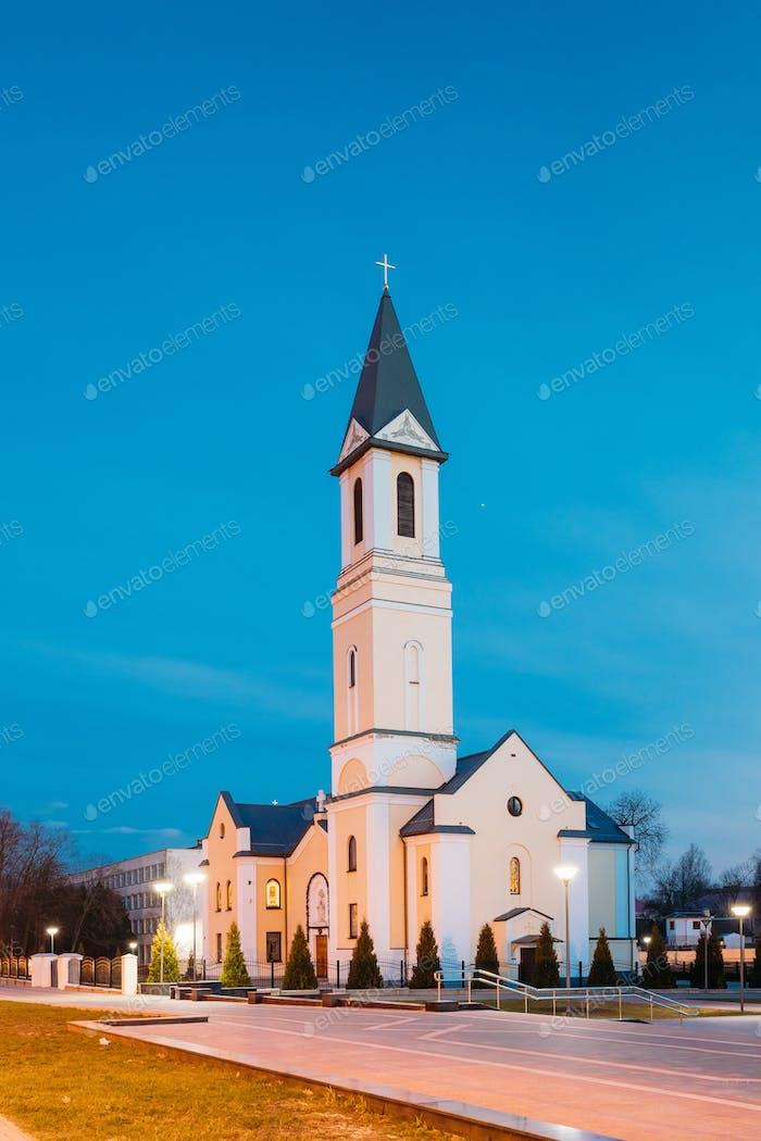 Gomel, Weißrussland. Kirche der Geburt der Jungfrau Maria auf Sov