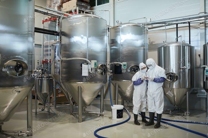 Antecedentes de la producción química