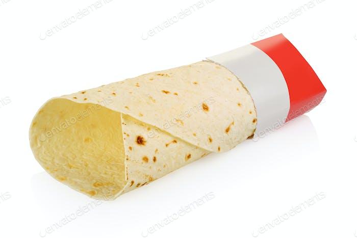 Leeres Wrap Sandwich