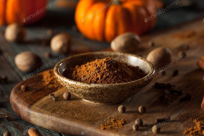 Organic Raw Pumpkin Spice