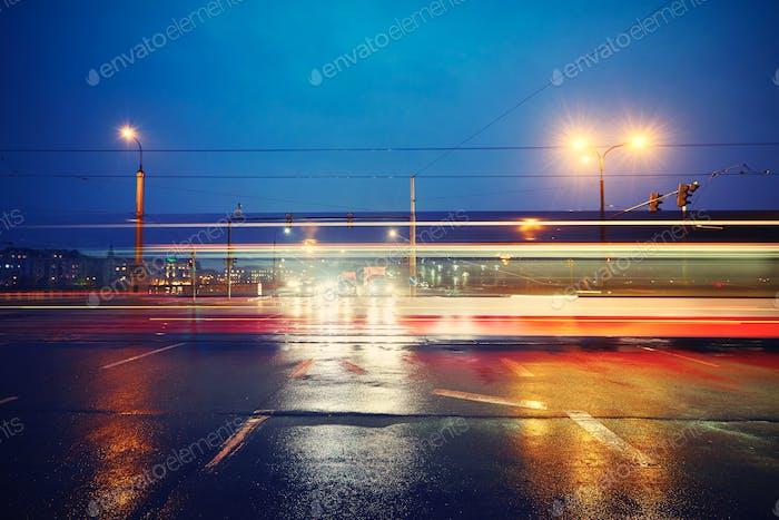 Night traffic