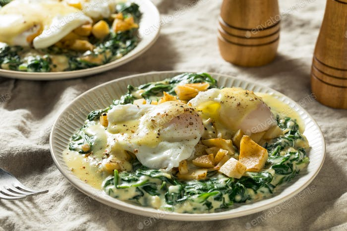 Homemade Cajun Eggs Sardou