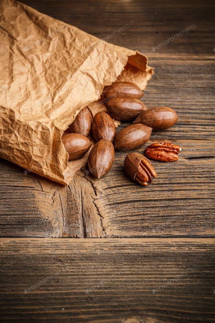 Tasty pecan nuts