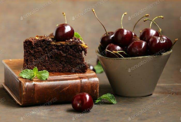 Chocolate Pie Cake