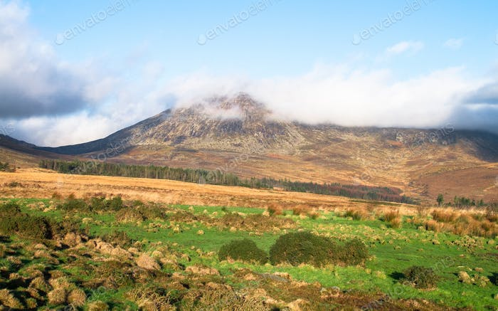 Mountain Scenery in Northern Ireland