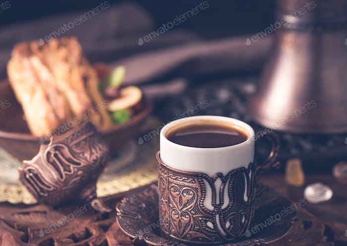 Coffee turkish style