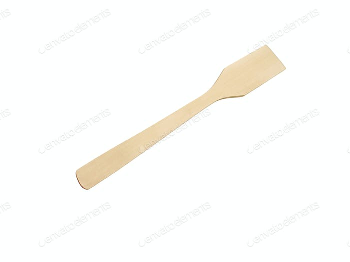 wooden kitchen device isolated on the white