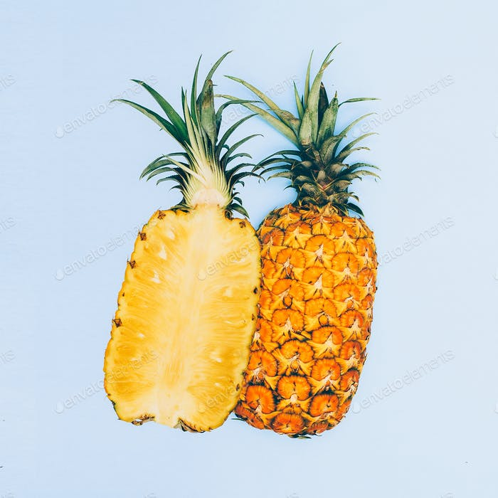 Fashion design geometry Minimal art fruit pineapple