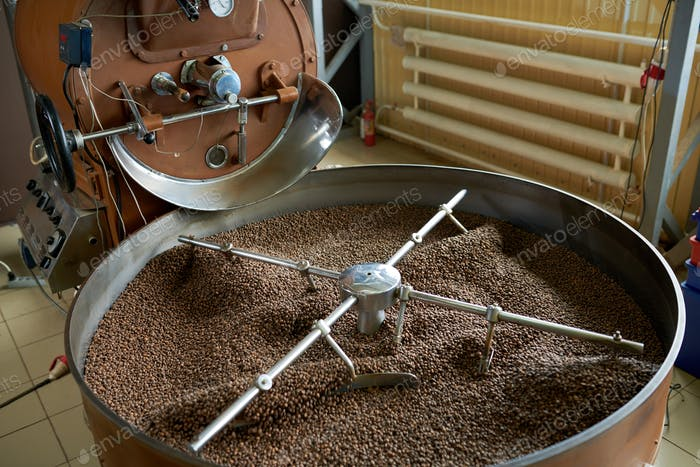 Coffee Roasting Drum Machine