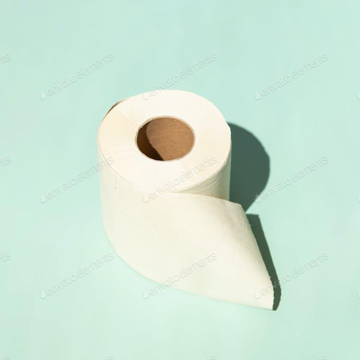 Bamboo Toilet Paper in Sunlight.
