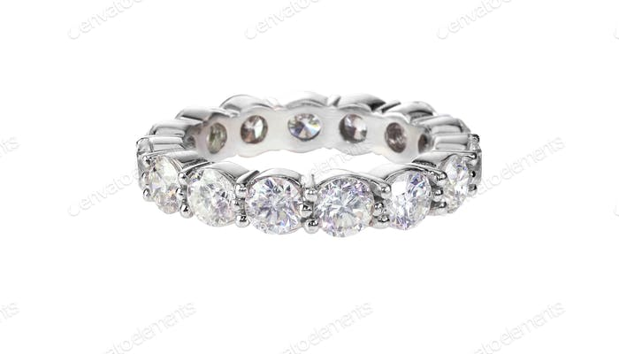 diamond gold wedding engagement band bridal engagement stackable stackingring