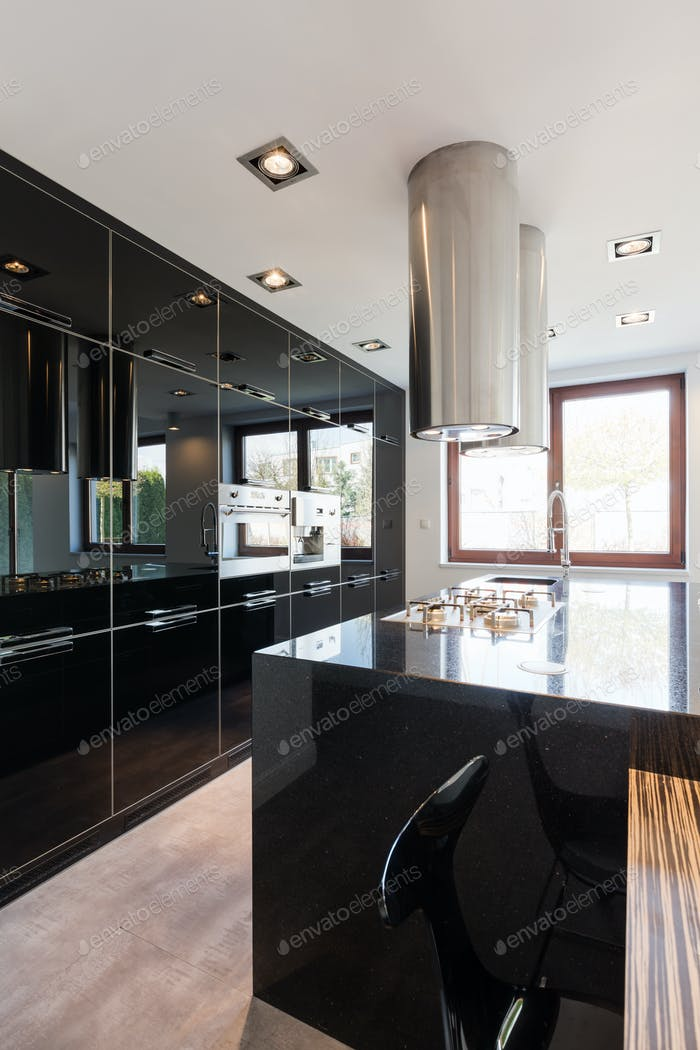 Luxurious  spacious kitchen