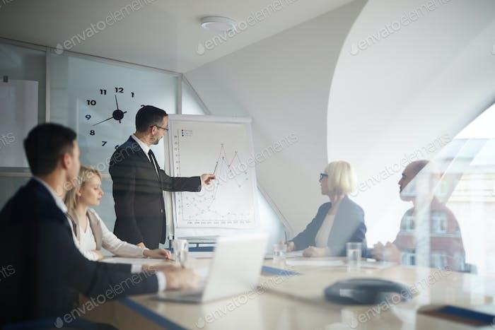 Presentation of financial data
