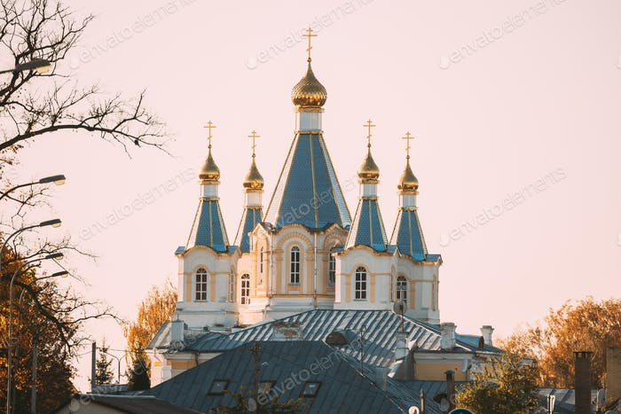 Kobryn, Brest Region, Belarus. Church of St. Alexander Nevsky