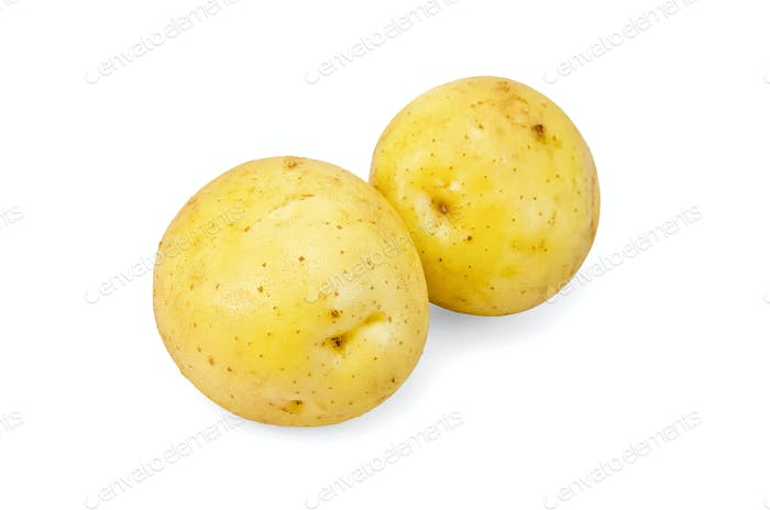 Potatoes yellow new