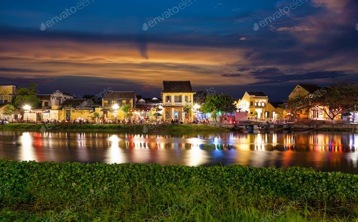 Historische Stadt Hoi An in Vietnam