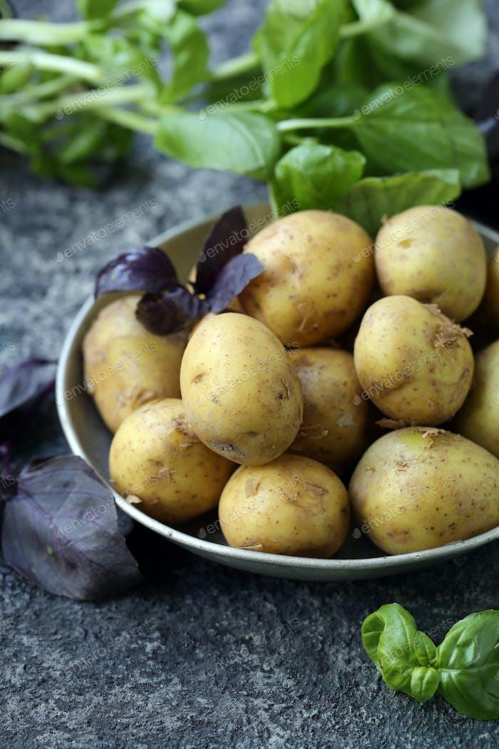 Organic Vegetables, Potatoes