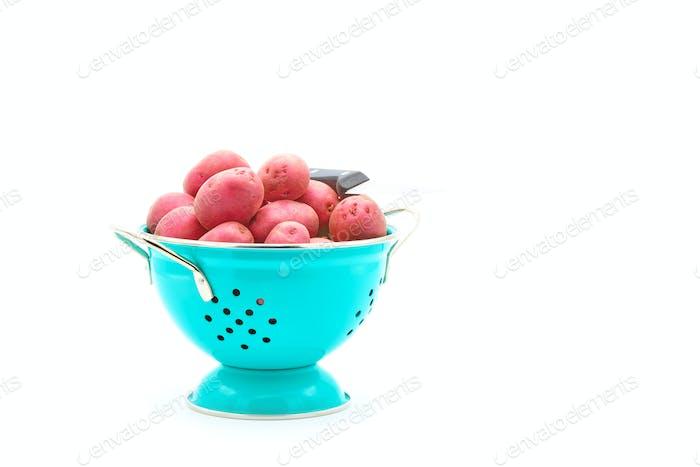 Red Potatoes Colander