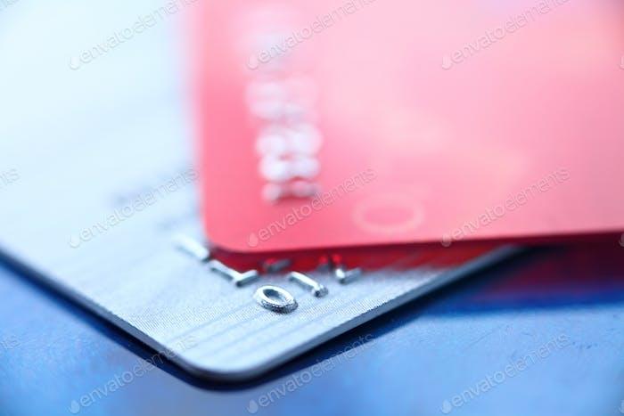 Kreditkarte Nahaufnahme