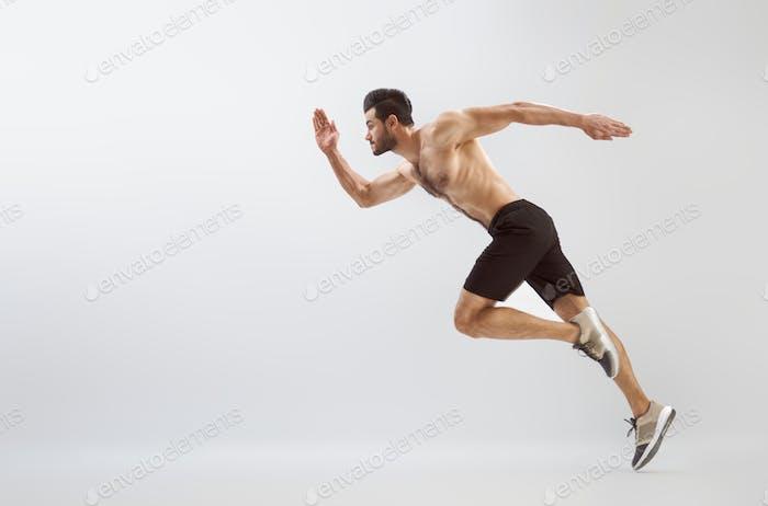 Der Mensch macht Bewegung.