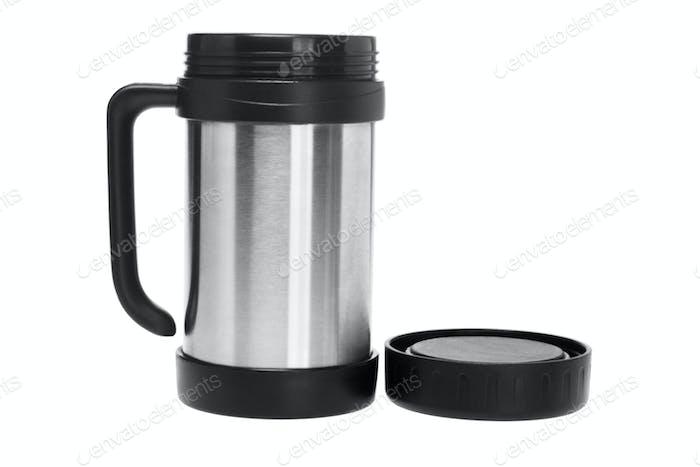 Open Thermos Mug