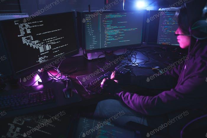 Computer Programmer Coding