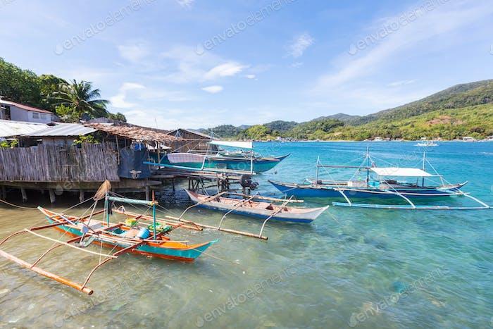 Dorf in Palawan