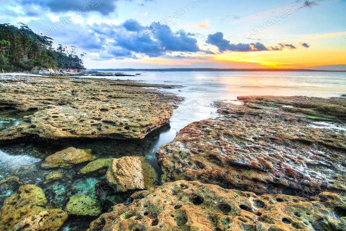 Sunset at Jervis Bay, Australia