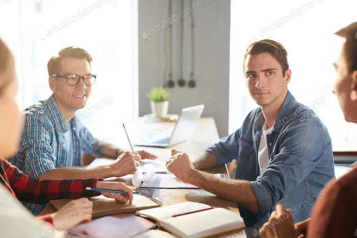 Creative Business Team at Work