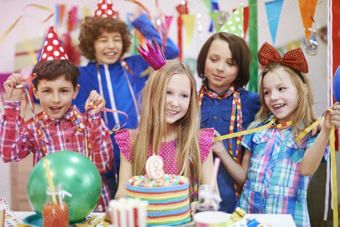 It's my the best birthday party