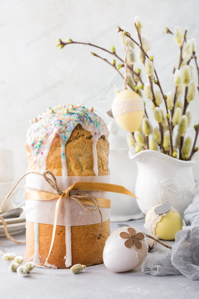 Ostern orthodoxes süßes Brot