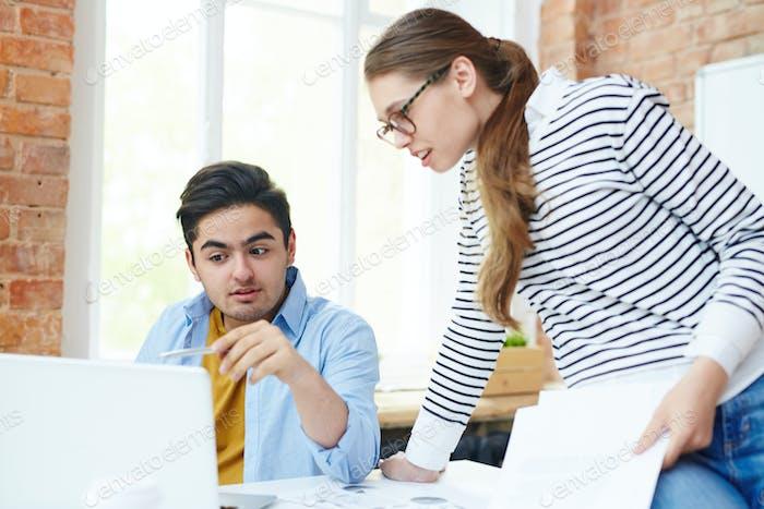 Designers browsing