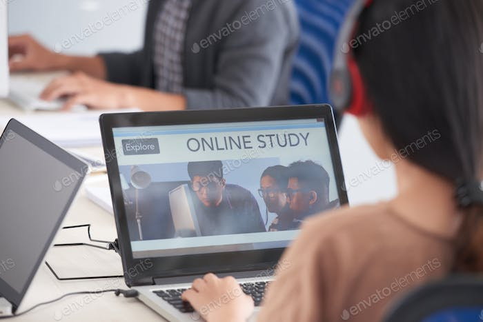 Studying online