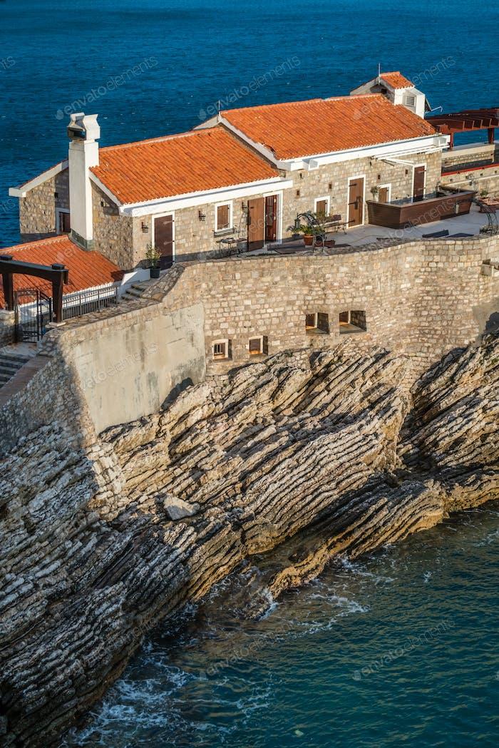 Alte mittelalterliche Festung in Petrovac
