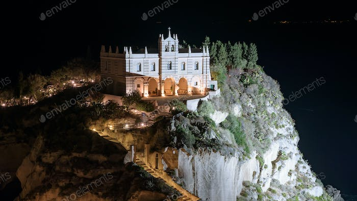 Sanctuary of Santa Maria Island in Tropea