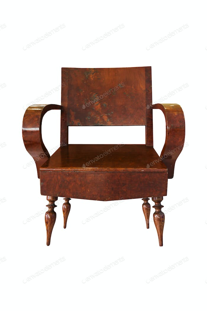 Old Wooden arm chair