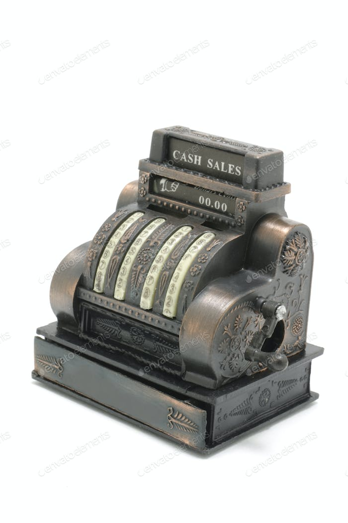 Miniature Cash Register