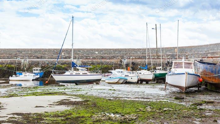 Barna Harbour in Ireland