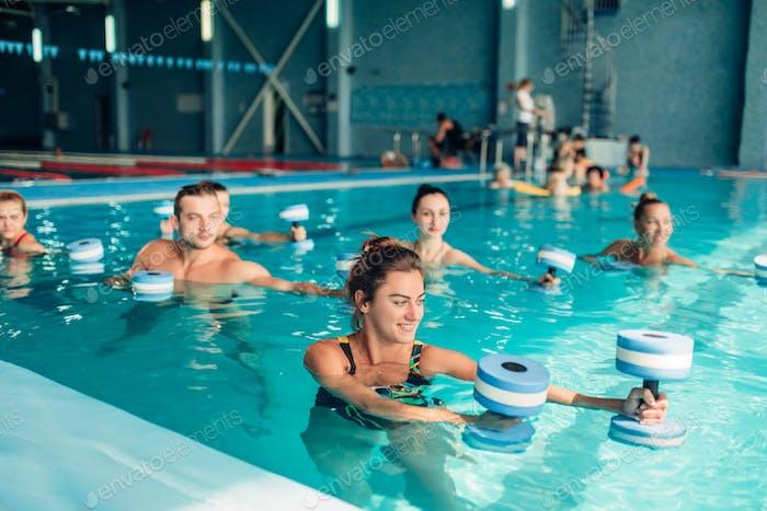 Aqua-Aerobic, gesunder Lebensstil, Wassersport