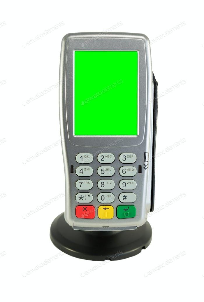Kreditkarten-Terminal