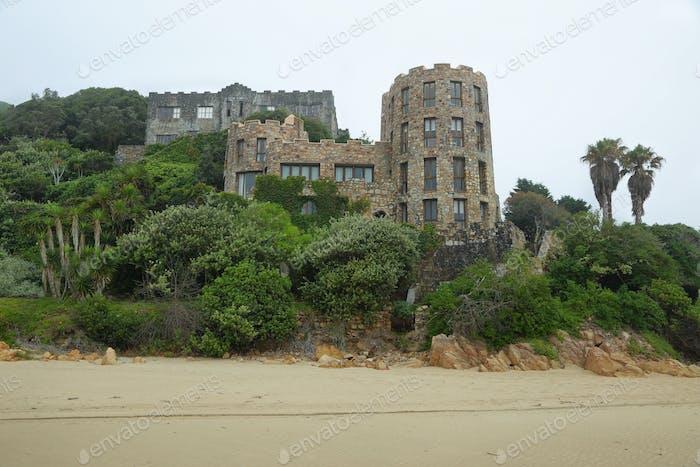 Castle at Noetzie beach