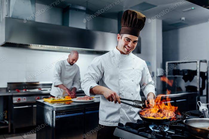 He is a master chef