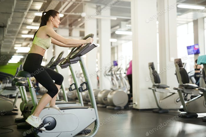 Cardio Workout in Gym