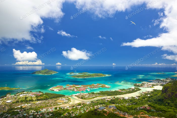 Mahe Seychelles coastline