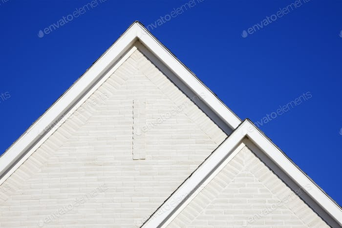 Two Gabled Rooflines