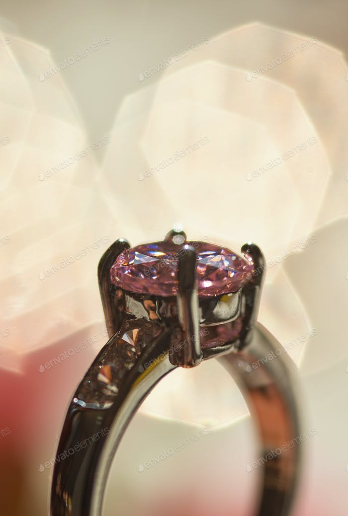 Gemstone ring the precious gift