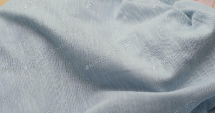 Textura de tela azul.