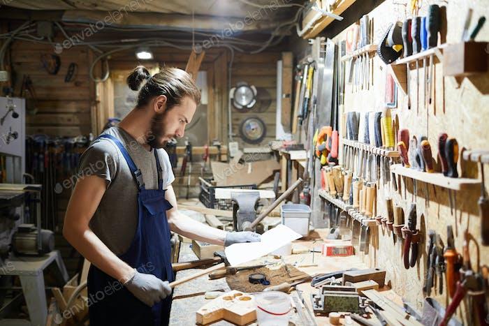Young repairman