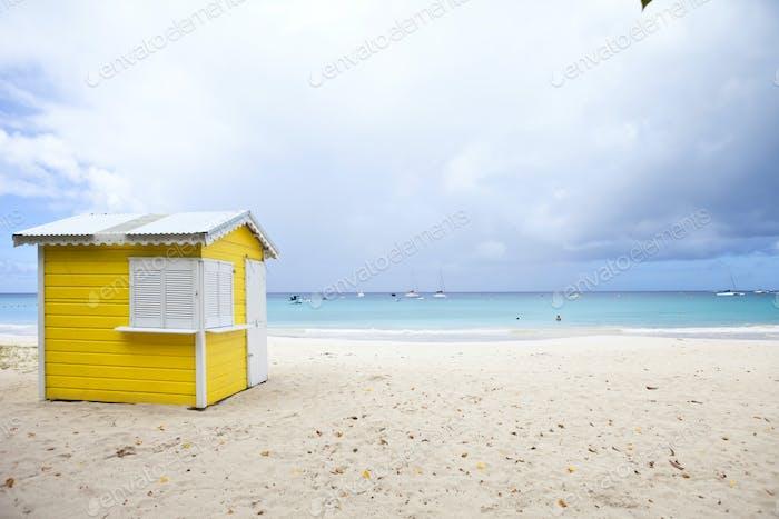 Strandhütte, barbados